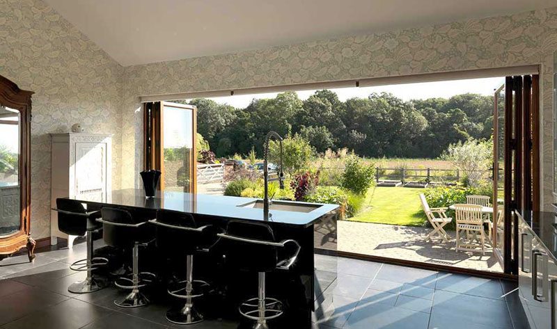 Bi Fold Door Installers - Design Window and Door Systems