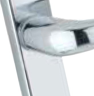 Mila Pro-secure - Silver Door Handle