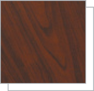 Rosewood and White Window Colour Option
